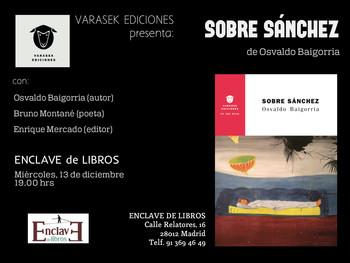 Sobre Sánchez - Osvaldo Baigorria - 19 h.